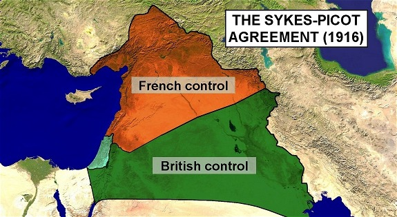 The Sykes Picot Agreement 1916 Choice Image Agreement Letter Format